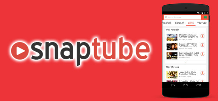 Top Features OF Snaptube App - Sights + Sounds